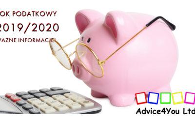 Rok Podatkowy 2019/2020
